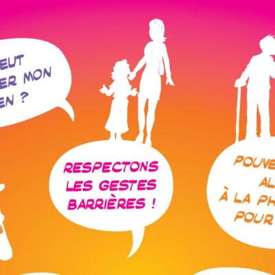 Affiche kit coronavirus Voisins Solidaires